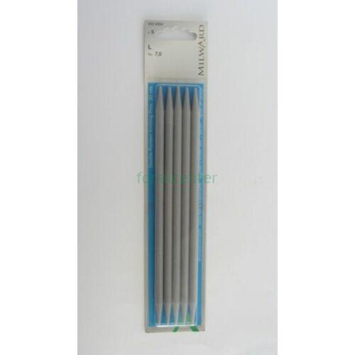 MILWARD Harisnyakötőtű-műanyag, 20cm, 7,0mm
