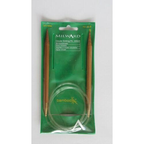 MILWARD Körkötőtű-bambusz, 100cm, 8,0mm