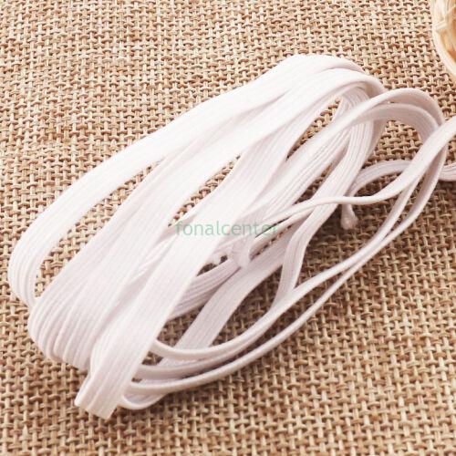 Extra puha gumi pertli, ( gumipertli ) - gazdaságos CSALÁDI CSOMAG - 10 m/csomag,  5 mm széles, fehér
