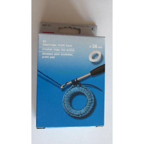 PRYM Horgológyűrű szet(30 db) átmérő: 36 mm  624141