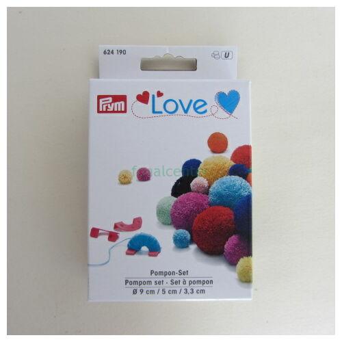 PRYM LOVE Pompon-készítő készlet, Kódszám: 624190