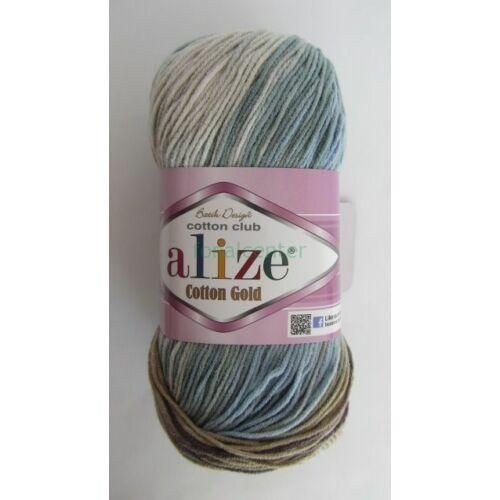 ALIZE Cotton Gold Batik török fonal, Színkód: 4148