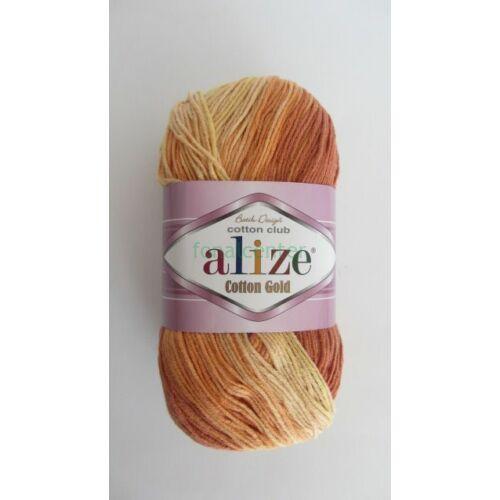 ALIZE Cotton Gold Batik török fonal, Színkód: 5508