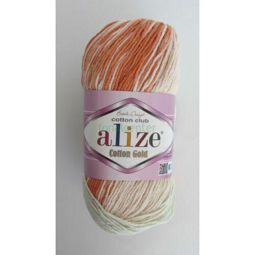 ALIZE Cotton Gold Batik török fonal, Színkód: 7103