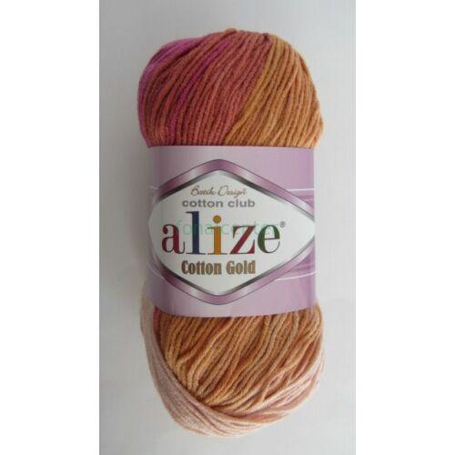 ALIZE Cotton Gold Batik török fonal, Színkód: 7107