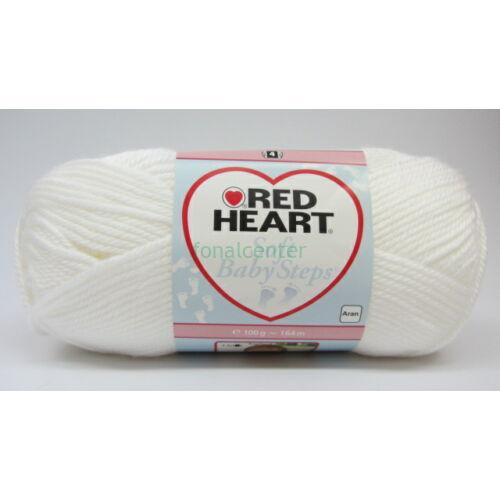 Red Heart Soft Baby Steps fonal, Színkód: 00001