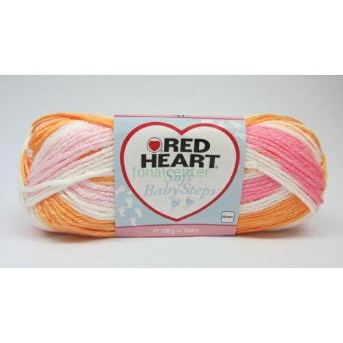 Red Heart Soft Baby Steps (Color) fonal, Színkód: 09931