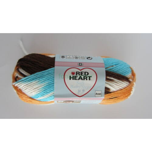 Red Heart Soft Baby Steps (Color) fonal, Színkód: 09940