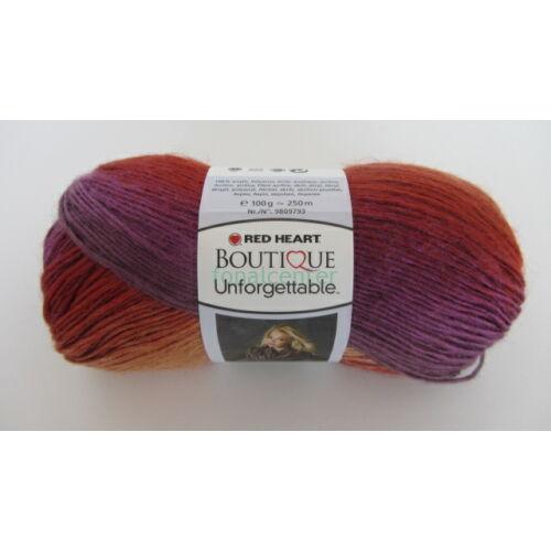 Red Heart Boutique Unforgettable fonal, színkód: 03967