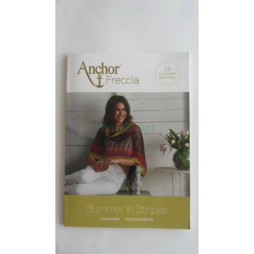 Anchor  Freccia 'Summer in Stripes' horgolási minta és mintaleírás gyűjtemény