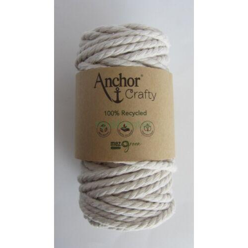 Anchor Crafty makramé fonal, natúr színű,  színkód:00105