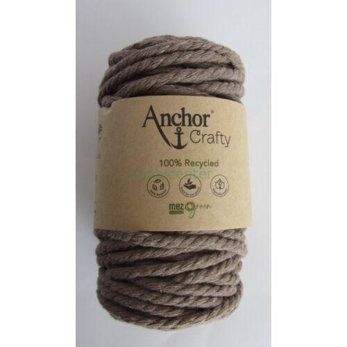 Anchor Crafty makramé fonal,fahéj színű,  színkód:00107