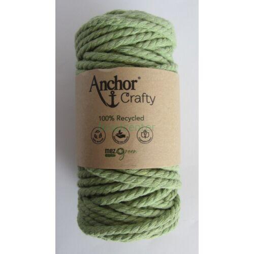 Anchor Crafty makramé fonal, almazöld színű,  színkód:00110