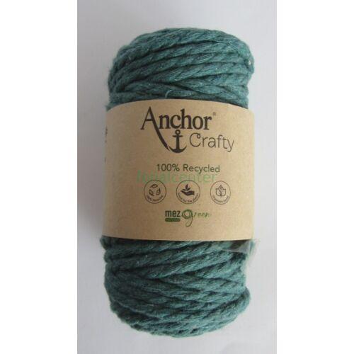 Anchor Crafty makramé fonal, erdőzöld színű,  színkód:00111