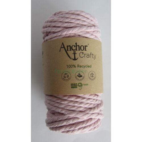 Anchor Crafty makramé fonal, rózsaszínű,  színkód:00115