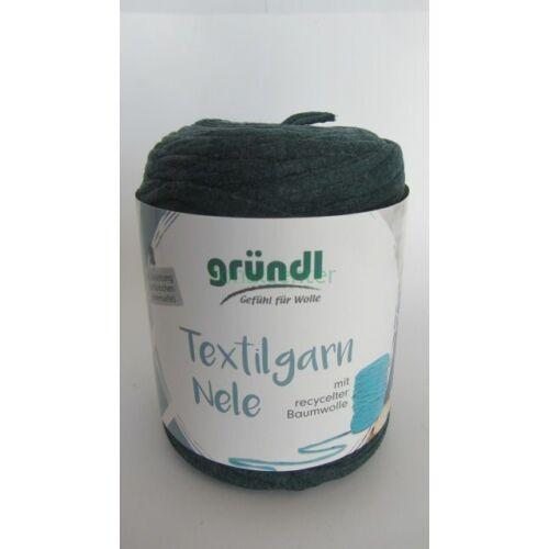 Gründl Textilgarn NELE német pólófonal, acélkék, Színkód: 021