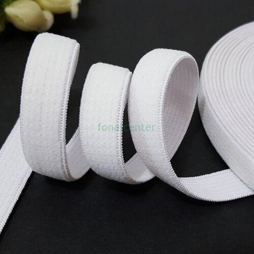 Minőségi plüss gumi pertli, (gumipertli)  -  13 mm, fehér, gazdaságos KIS CSALÁDI CSOMAG  - 5 méter/csomag