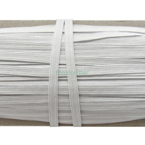 Hagyományos gumi pertli, ( gumipertli ) - gazdaságos MEGA PACK - 50 m/csomag,  8 mm széles, fehér