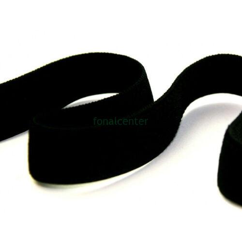 Minőségi plüss nadrág gumi, ( nadrággumi )   -  38mm, fekete, gazdaságos KIS CSALÁDI CSOMAG  - 5 méter/csomag