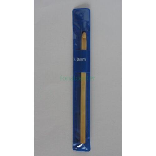 Horgolótű, bambusz, 14cm, 7,0mm