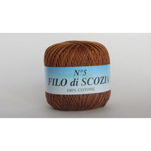 Filo di Scozia No.5 olasz fonal,50 gr, Színkód: 155
