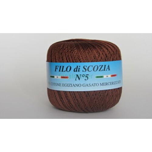 Filo di Scozia No.5 olasz fonal,50 gr, Színkód: 158