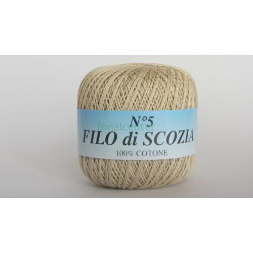 Filo di Scozia No.5 olasz fonal,50 gr, Színkód: 2140