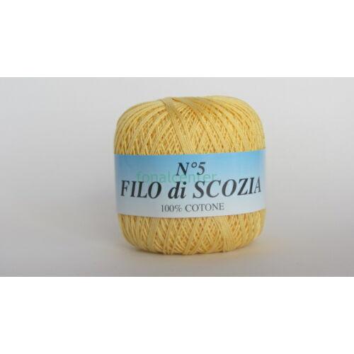 Filo di Scozia No.5 olasz fonal,50 gr, Színkód: 263