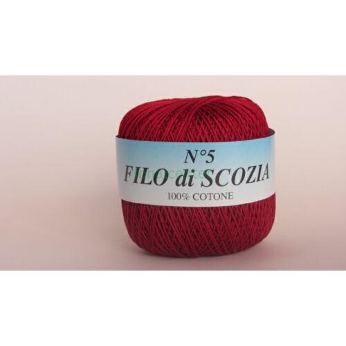 Filo di Scozia No.5 olasz fonal,50 gr, Színkód: 286