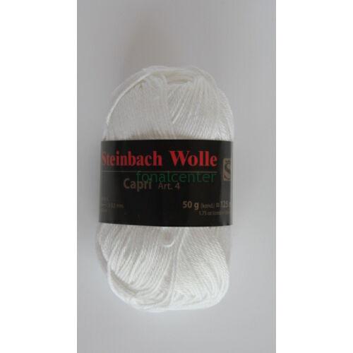 Steinbach Wolle Capri Art. 4 osztrák kötőfonal színkód:01