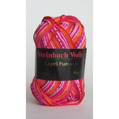 Steinbach Wolle Capri Fun  Art. 29 osztrák multicolor kötőfonal színkód:04