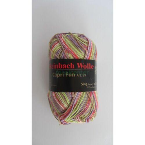 Steinbach Wolle Capri Fun  Art. 29 osztrák multicolor kötőfonal színkód:07