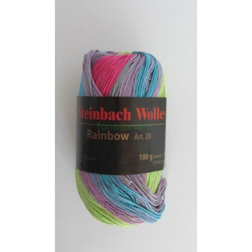 Steinbach Wolle Rainbow Art. 28 osztrák kötőfonal színkód:02