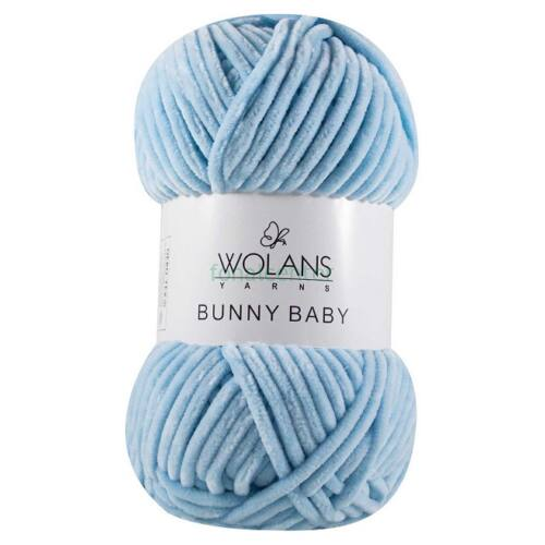 Wolans Yarns BUNNY BABY fonal, Színkód: 100-11