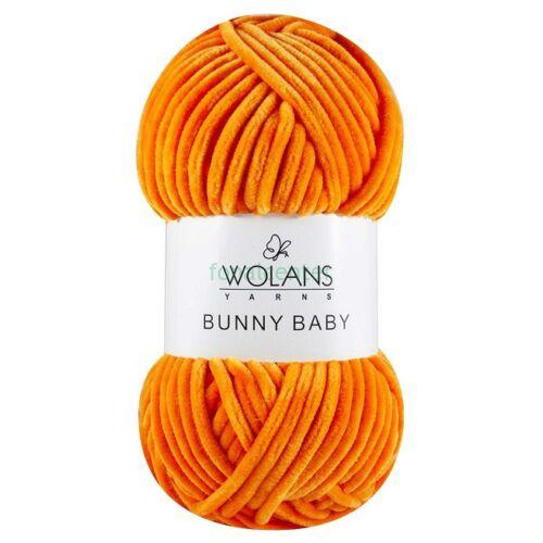 Wolans Yarns BUNNY BABY fonal, Színkód: 100-25