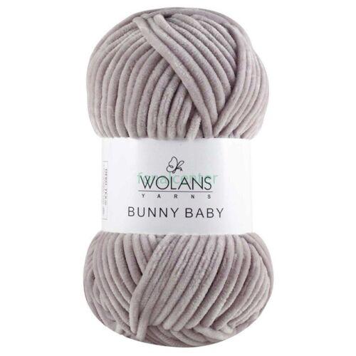 Wolans Yarns BUNNY BABY fonal, Színkód: 100-33