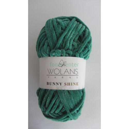 Wolans Yarns BUNNY SHINE fonal, Színkód: 820-26, zöld