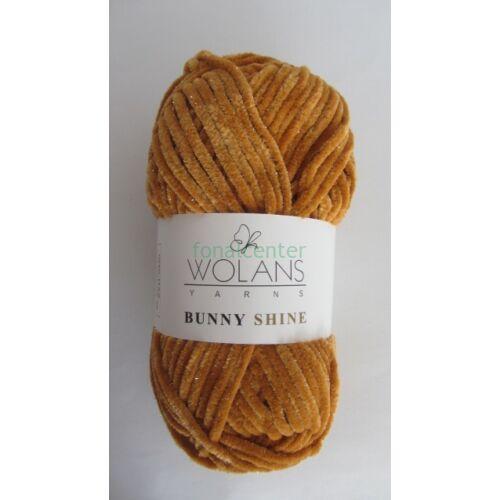 Wolans Yarns BUNNY SHINE fonal, Színkód: 820-28, rozsdaszínű